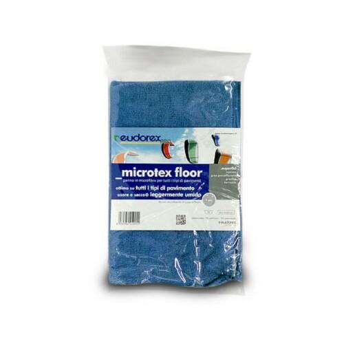 Panno pavimento microtex blu