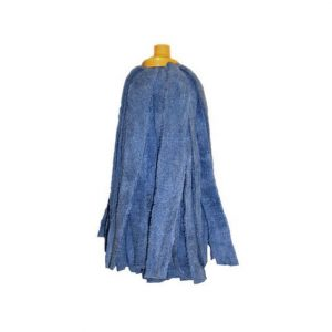 Ricambio mop microfibra blu a vite