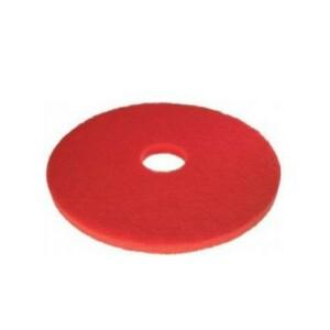 disco per macchinari lavapavimenti diametro 380 mm. rosso