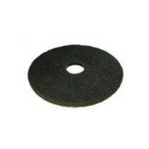 disco per macchinari lavapavimenti diametro 432 mm. nero