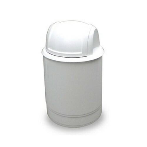 cestino rotondo bianco piccolo