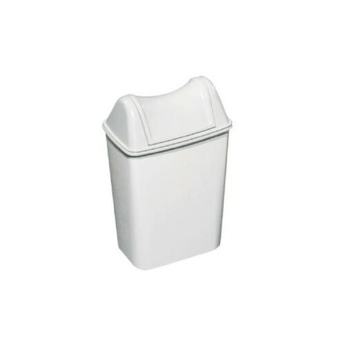 cestino rettangolare bianco piccolo lt.8