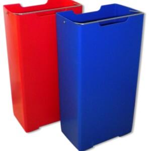 contenitore in plastica rosso lt.16