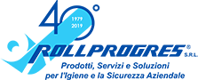 Logo Rollprogres 40 anni