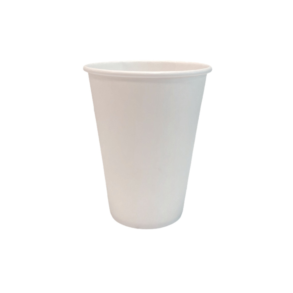 Bicchiere in Cartoncino Bianco 200ml 50pz